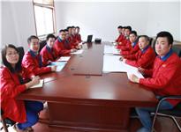 华振机械钣金工程师团队项目研讨
