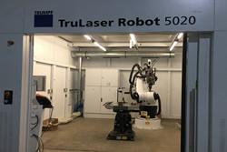 德国通快激光焊接机器人:TruLaser Robot5020
