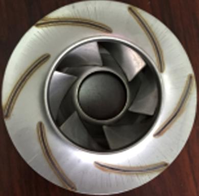 水泵叶轮激光焊接加工