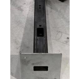 镀锌板与铁方通焊接-铁路信号灯显示屏支架